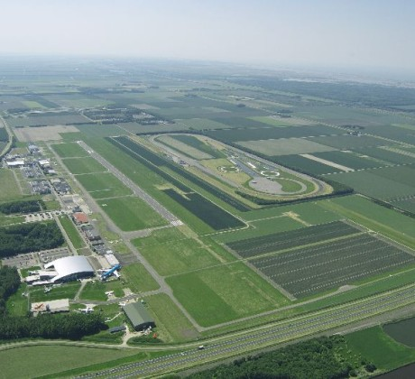 Lelystad Airport from the sky